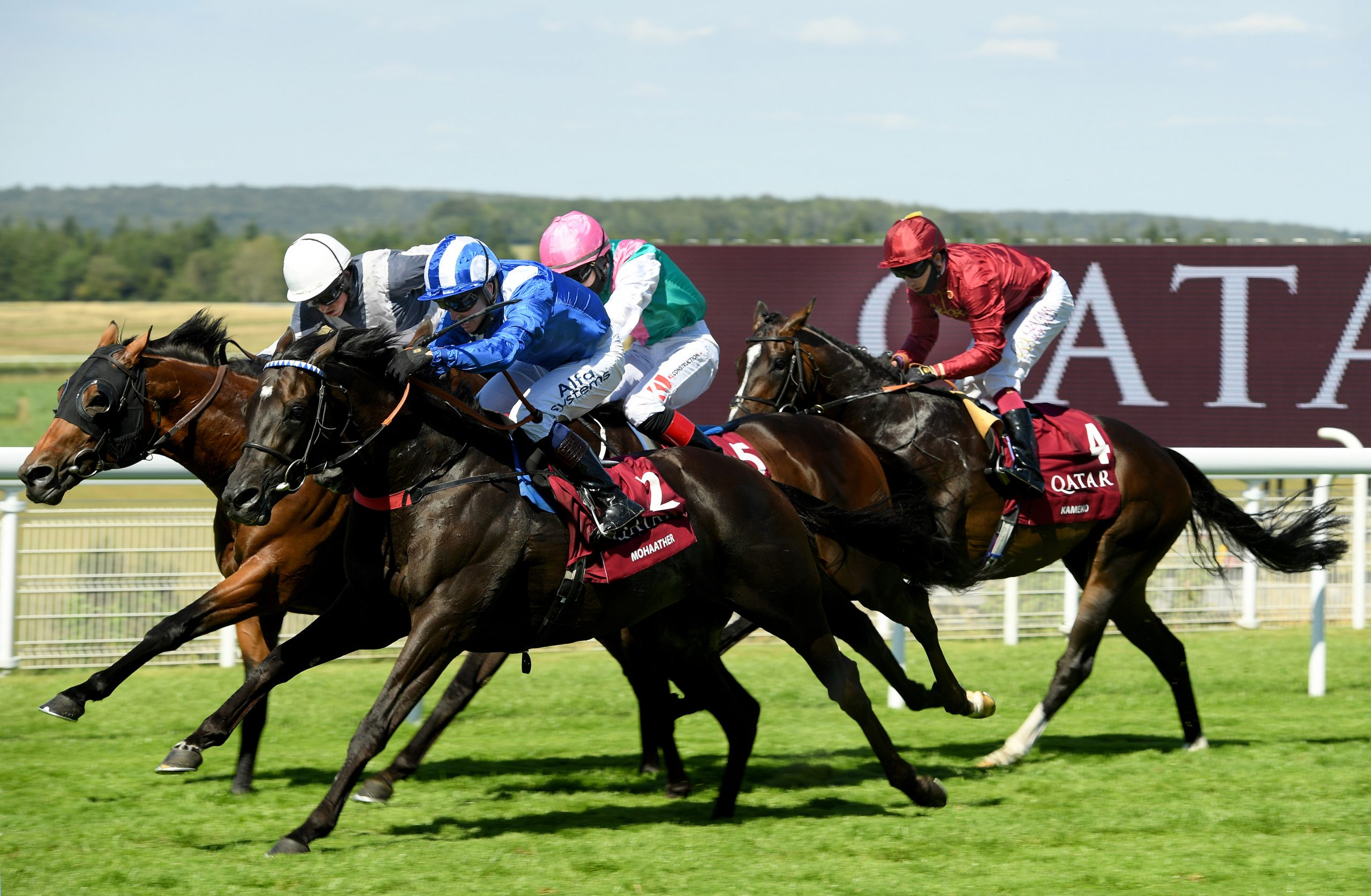 Mohaather winning the Group 1 Sussex Stakes. Credit: Bill Selwyn